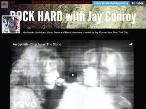 ROCK HARD with Jay Conroy Blogging Fusion Blog Directory