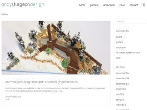 Blogging Fusion Blog Directory SOM Winners Andy Sturgeon Garden Design