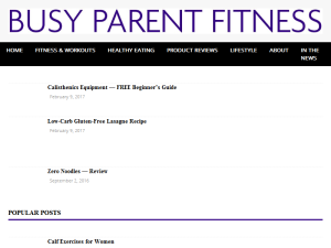 Busy Parent Fitness