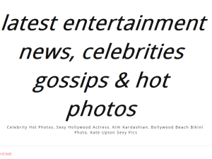 Celebrity Gossips Blogging Fusion Blog Directory