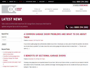 CDC Garage Doors Blog