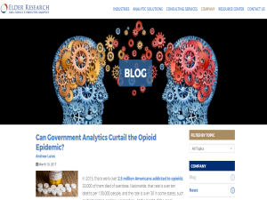 Elder Research Data Science and Predictive Analytics Blog : Blogging Fusion Blog Directory
