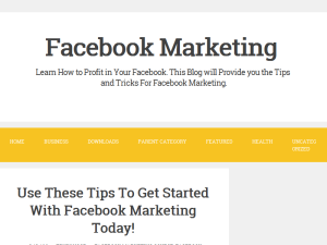Facebook Marketing Blogging Fusion Blog Directory