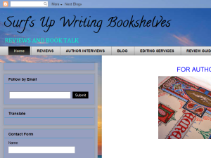 Surf's Up Bookshelves Blogging Fusion Blog Directory