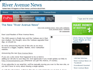 River Avenue News Blogging Fusion Blog Directory