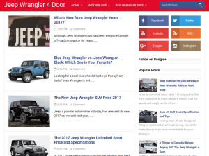 Jeep Wrangler Reviews Blogging Fusion Blog Directory