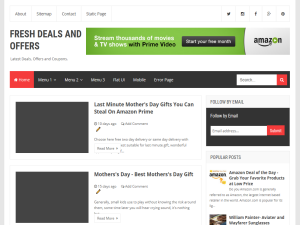 Fresh Deals And Offers Blogging Fusion Blog Directory