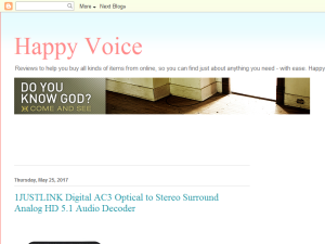 Happy Voice Blogging Fusion Blog Directory