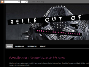 Belle Out of Hell Blogging Fusion Blog Directory