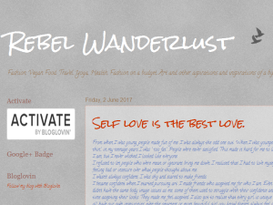 Blogging Fusion Blog Directory SOM Winners Rebel Wanderlust