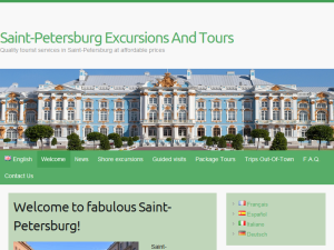 Saint-Petersburg Excursions And Tours Blogging Fusion Blog Directory