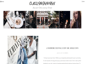 ClassyandUnique Blogging Fusion Blog Directory