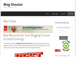 BlogShouter Blogging Fusion Blog Directory