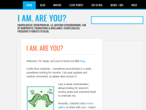 I Am.  Are You? Blogging Fusion Blog Directory