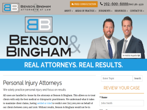 Las Vegas Injury & Accident Blog Blogging Fusion Blog Directory