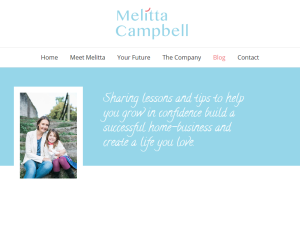 Home Business Success with Melitta Campbell Blogging Fusion Blog Directory