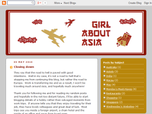 Girl About Asia