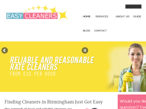 Blogging Fusion Blog Directory SOM Winners Easy Cleaners