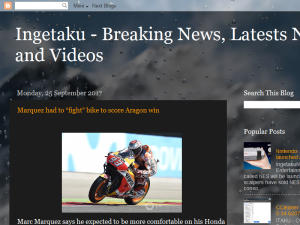 Ingetaku - Breaking News, Latests News and Videos Blogging Fusion Blog Directory