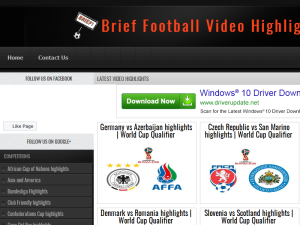 Brief Football Video Highlights Blogging Fusion Blog Directory