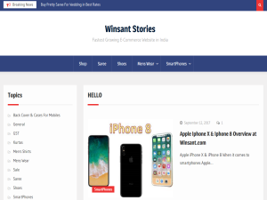 Winsant Stories Blogging Fusion Blog Directory