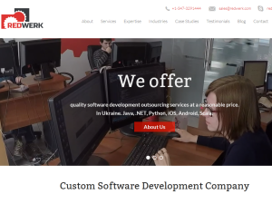Redwerk software development company blog Blogging Fusion Blog Directory