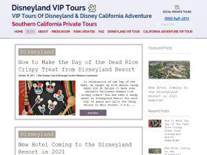 Disneyland VIP Tours | Southern California Private Tours Blogging Fusion Blog Directory