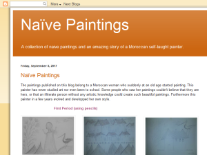 Naive Paintings Blogging Fusion Blog Directory