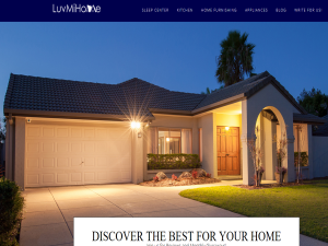 LuvMiHome Blogging Fusion Blog Directory