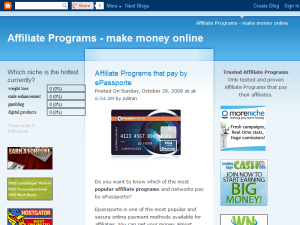 Trusted Affiliate Networks - choose an affiliate marketing program Blogging Fusion Blog Directory