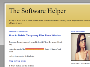 The software Helper