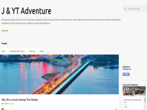 JYT Adventure Guide Blogging Fusion Blog Directory