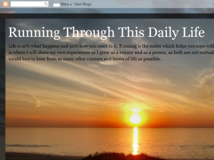 Running Through This Daily Life Blogging Fusion Blog Directory