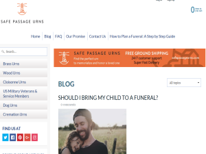 Safe Passage Urns Blogging Fusion Blog Directory
