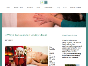 Advanced Massage Solutions and Yoga Blogging Fusion Blog Directory