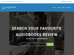Welcome To Top Audiobook Review Blogging Fusion Blog Directory