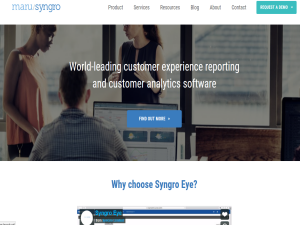 Maru/Syngro Customer Intelligence Software Blogging Fusion Blog Directory