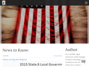 Liberty Party Issues of the Day Blogging Fusion Blog Directory