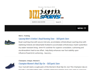 DiZiSports Sporting Goods Blogging Fusion Blog Directory