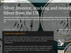Silver Investor UK Blogging Fusion Blog Directory