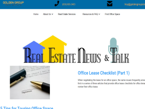 RENT Real Estate News & Talk Blogging Fusion Blog Directory