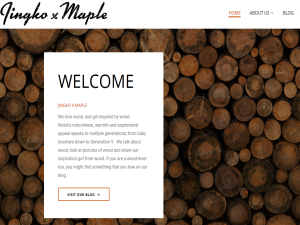 Jingko x Maple Blogging Fusion Blog Directory