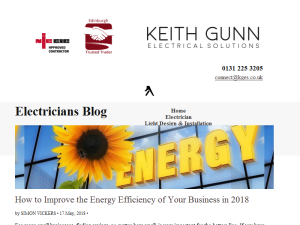Electricians Blog Blogging Fusion Blog Directory