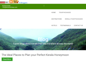 Kerala Tour Blog Blogging Fusion Blog Directory