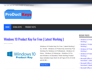 Product Keys Serial Keys Blogging Fusion Blog Directory