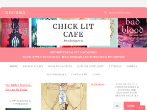 Chick Lit Cafe Author Services Blogging Fusion Blog Directory