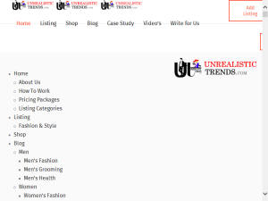 Unrealistic Trends: Online Fashion Review and Listing Company Blogging Fusion Blog Directory