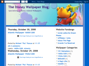 The Disney Wallpaper Blog