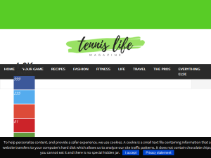 Tennis Life Hacks Blogging Fusion Blog Directory