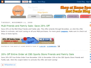 Shop at Home Sports